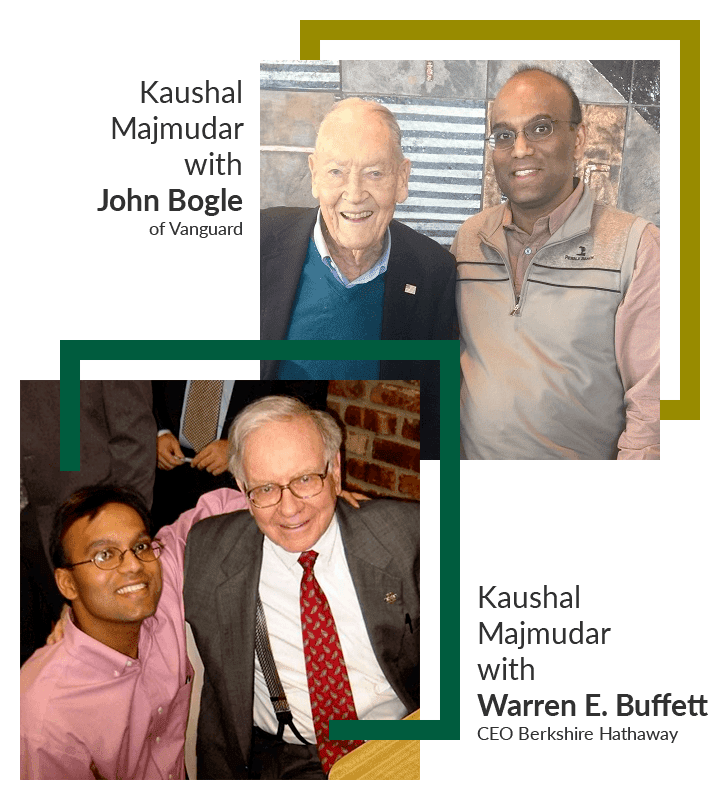 "Kaushal ""Ken"" Majmudar with Warren E. Buffett Chairman & CEO, Berkshire Hathaway"